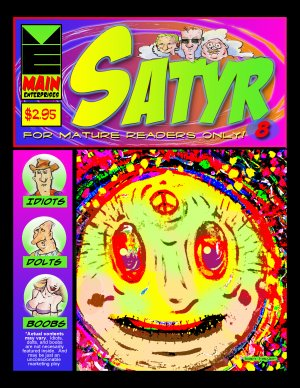 Satyr #8, Cover by Dan Taylor